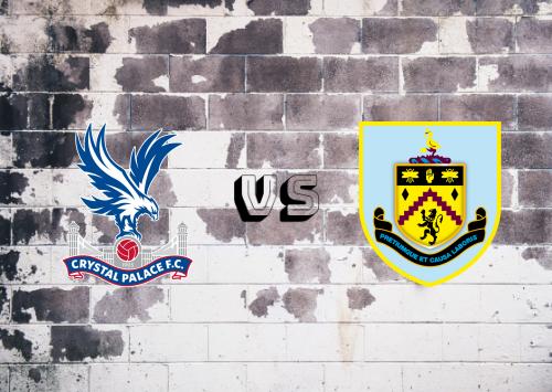 Crystal Palace vs Burnley  Resumen