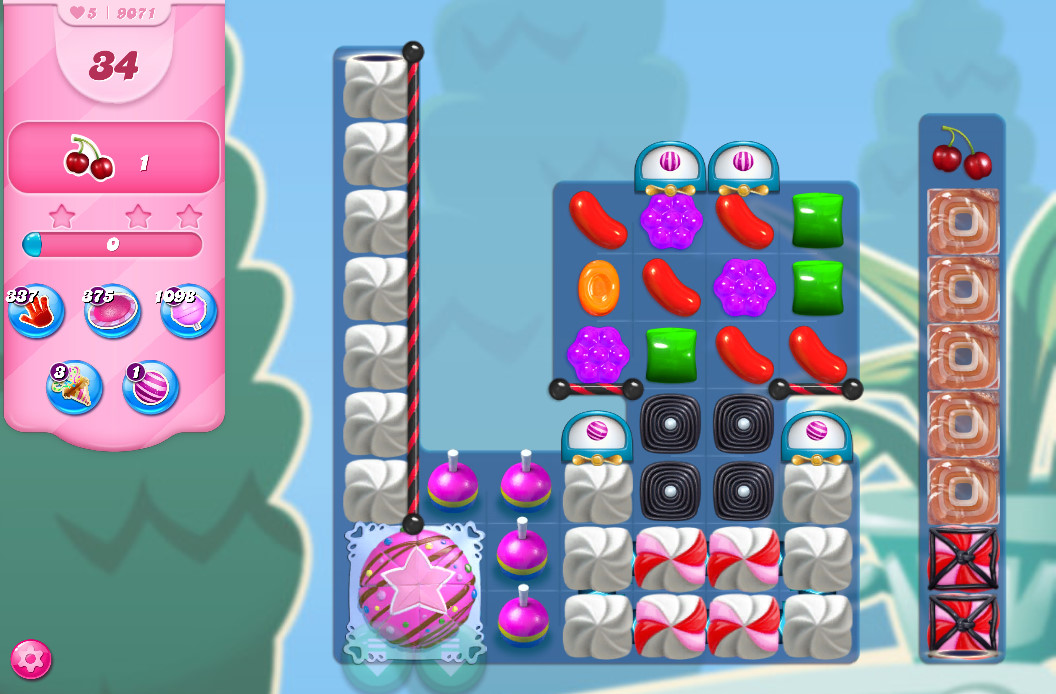 Candy Crush Saga level 9071