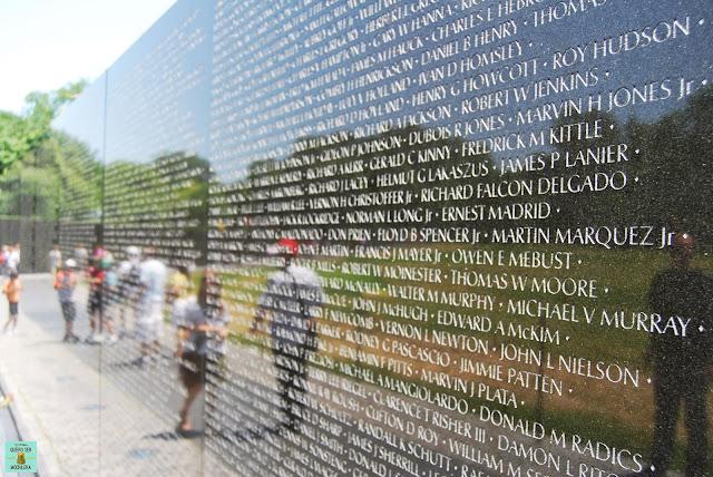 Vietnam Veterans Memorial en Washington
