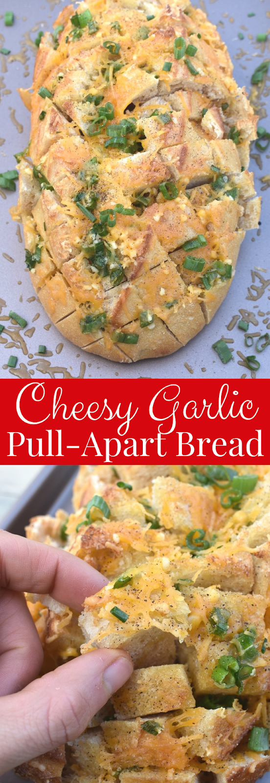 Cheesy Garlic Pull-Apart Bread recipe
