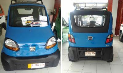 Mobil murah Indonesia, Bajaj Qute