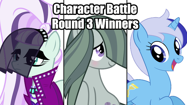 Character Battle Round 3 Winners
