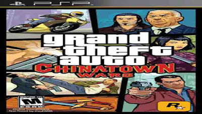 Download Game Grand Theft Auto: Chinatown Wars ISO (PSP)
