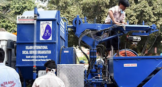 Sulabh International Introduces India's First Sewer Cleaning Machine