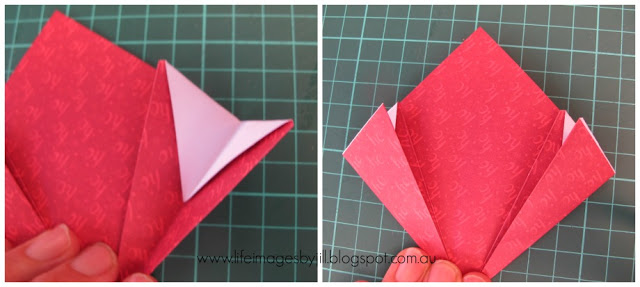 Life images by jill how to make a kusudama flower ball and then glue the five petals together at the centres to form a 5 petaled flower unlike the paper flowers i showed you how to make last year mightylinksfo