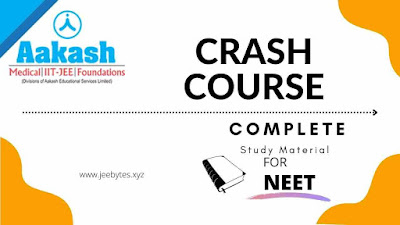 Aakash Crash Course for NEET Complete Study Package
