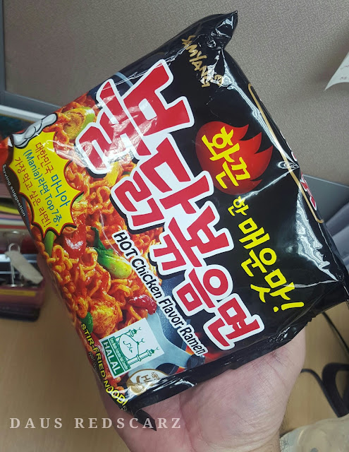 Spicy Korean Noodle Challenge