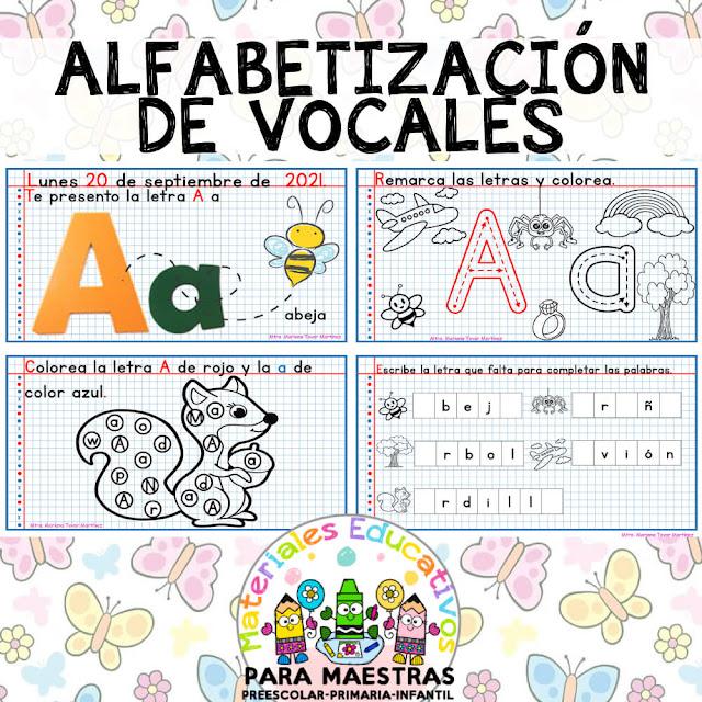 fichas-alfabetizacion-aprender-trabajar-vocales