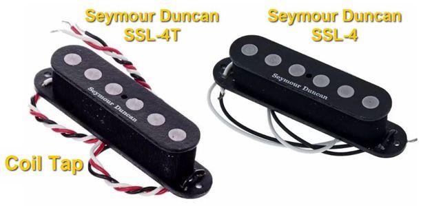 Pastillas para Guitarra Eléctrica Coil Tap