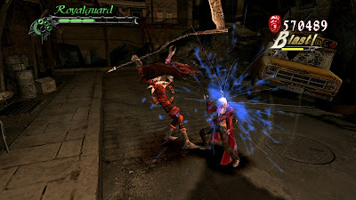 Devil May Cry 3 Dante Battle Alt