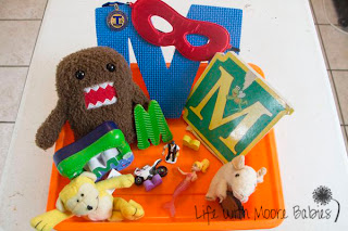 How to Make a Letter M Sensory Bin