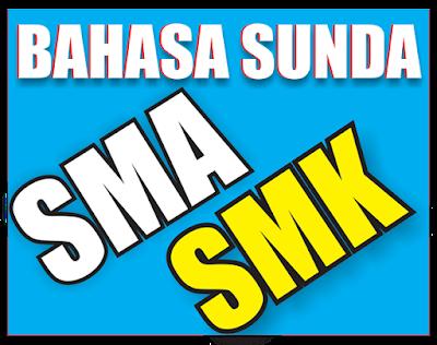 Buku Bahasa Sunda SMA / SMK Lengkap
