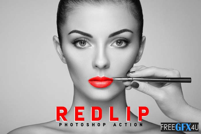RedLip Photoshop Action