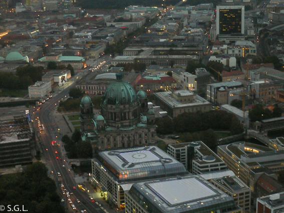 Vistas de Berlin desde Ferhsehturm