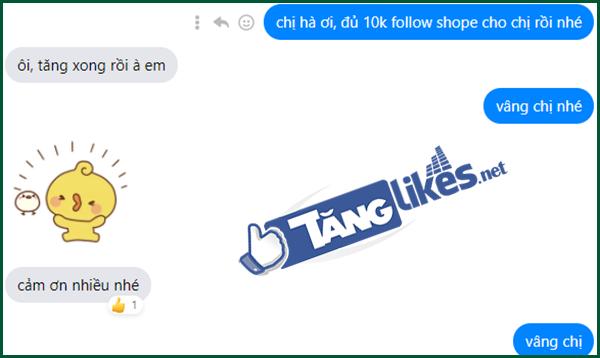 tang follow tren shopee