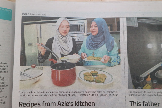 Raking In The Likes Azie Kitchen Dalam The Star