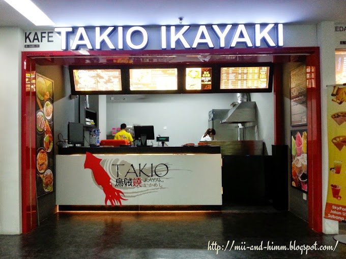 Food Review : Takio Ikayaki, Sky Park One City