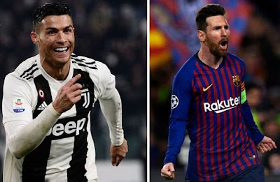 Ronaldo, Messi nominees 9th time, UEFA Men's Player of the Year award Past winners list 1998-2019.