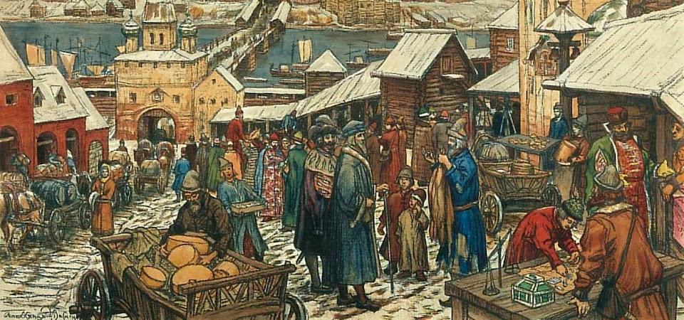As corporações davam o tom da economia urbana medieval.