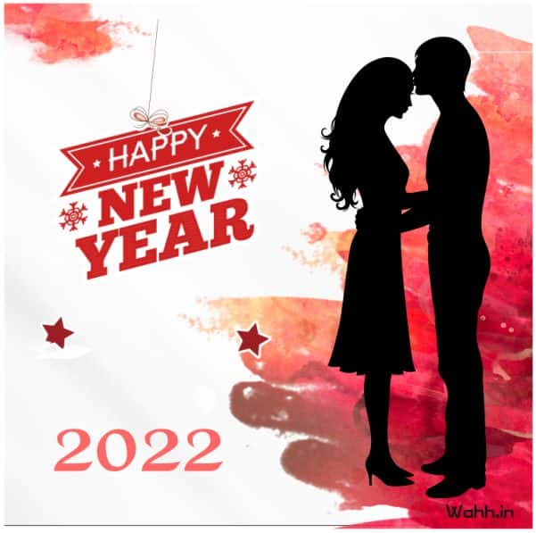 2022 Happy new year Romantic messages for Facebook