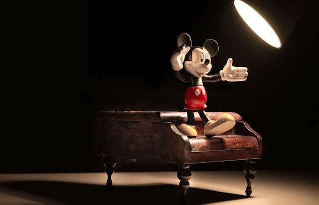 Sección de videos infantiles de Mickey Mouse