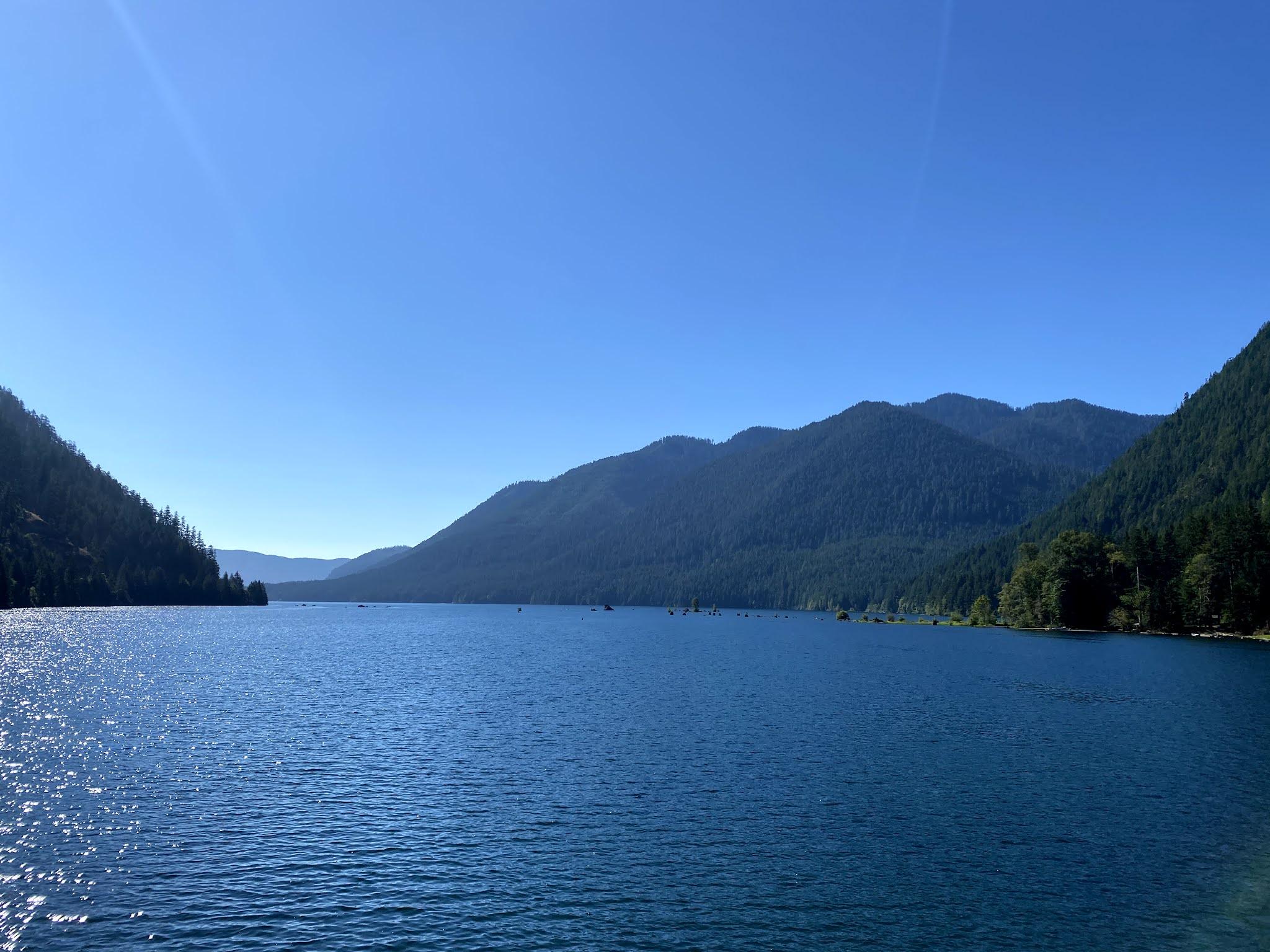Lake Cushman, Washington   biblio-style.com