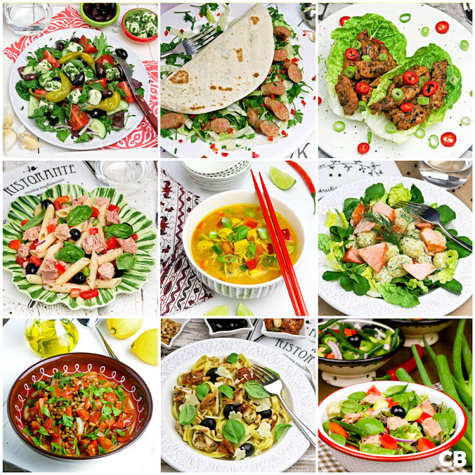 Recepten 10 snelle en makkelijke gerechten voor warme dagen