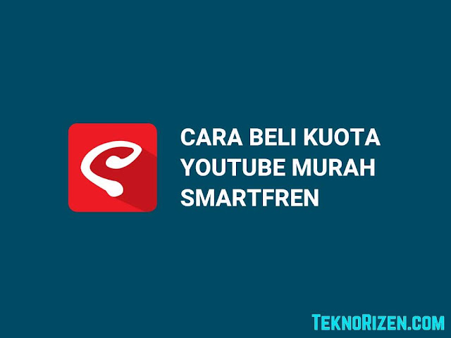 Cara Beli Paket YouTube Smartfren 7GB Cuman Rp10Rb
