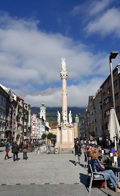 Coluna St. Anna em Innsbruck, Áustria