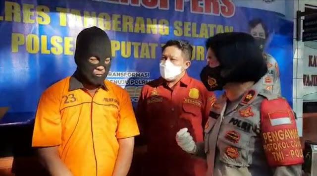 Pria yang Ancam Kurir dengan Pedang di Ciputat Ternyata Mitra Polisi