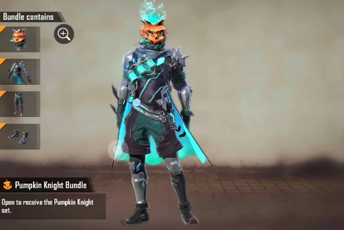 Event Mystery Shop SEA Halloween Spooky Witch Bundle Free Fire