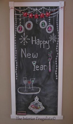 New Years Chalkboard Message