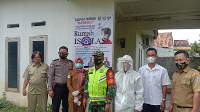 Louncing Kampung Tangguh Nusantara Di Hadiri Babinsa koramil 427-03/BLU