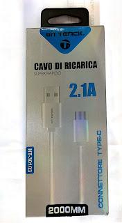 cavo type-c 2 metri on tenck 30103