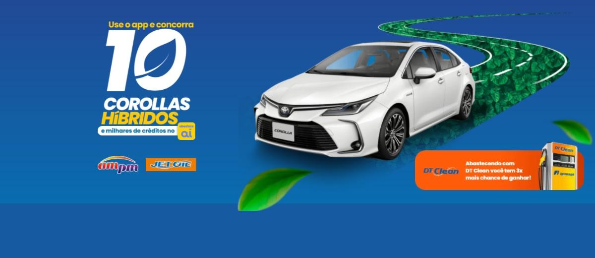 Promoção Abastece Aí 2021 Ipiranga 10 Corollas