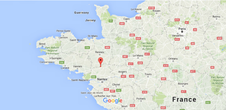 Map Of Northwest France.Sciency Thoughts Magnitude 3 0 Earthquake In The Brittany Region Of
