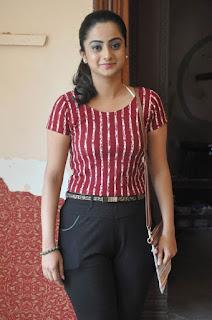 Actress Namitha Pramod Stills on talabbayi sets  0009.jpg