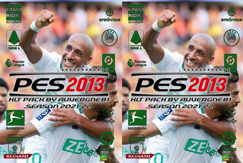 Kitpack Season 2021-22 For PES 2013 Update