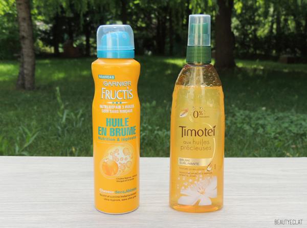 revue avis test brumes d'huiles fructis timotei