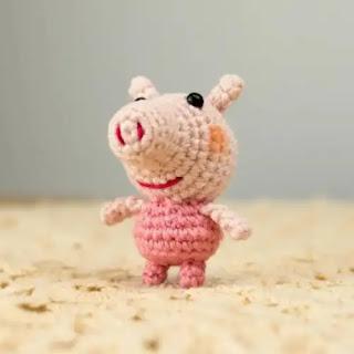 Amigurumi Peppa Pig a Crochet