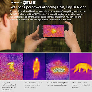 smarthphone that can detect body heat, fever, thermal scanner phone