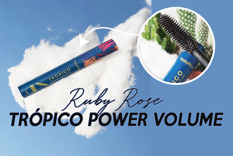 Máscara de cílios trópico Power volume