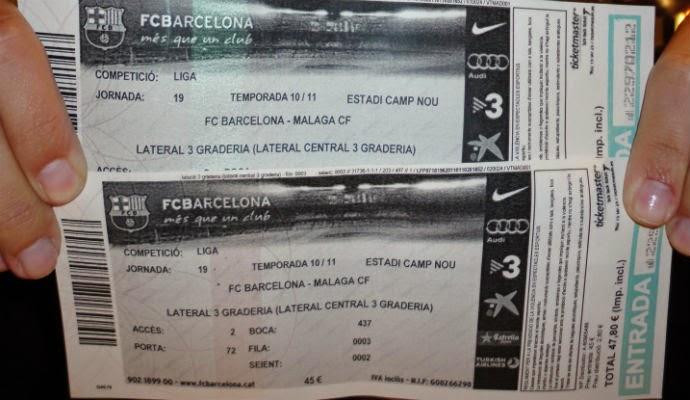 Entradas Barcelona en Camp Nou