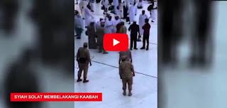 Video Syiah Shalat Membelakangi Ka'bah Kiblat