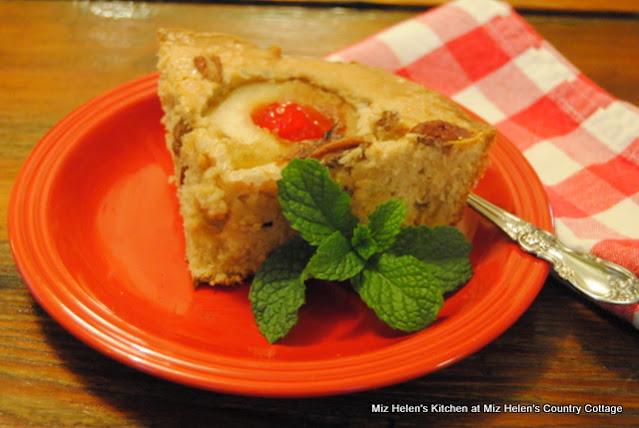 Pear-Pecan Skillet Cake at Miz Helen's Country Cottage