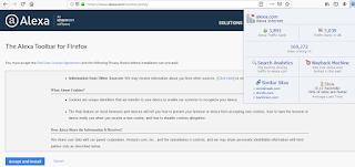 cara memasangl alexa toolbar di browser
