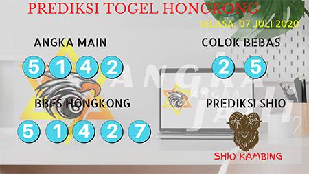 Prediksi Angka Jadi Togel Hongkong HK Selasa 07 Juli 2020