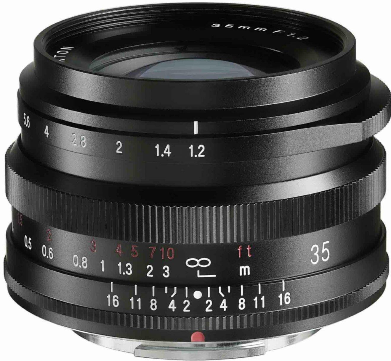 Объектив Voigtlander Nokton 35mm f/1.2 для камер Fujifilm