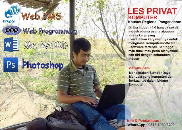 Les Privat Komputer Pangandaran