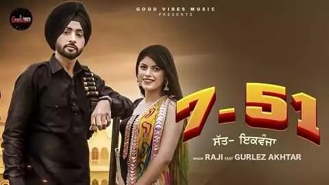 7-51 Lyrics in Punjabi Font | Raji, Gurlez Akhtar